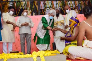 FOUNDATION STONE LAYING CEREMONY HELD FOR JAMMU TEMPLE3