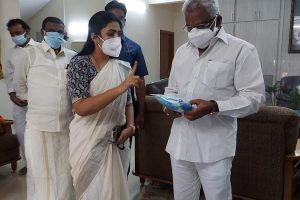 SANITIZERS AND MASKS DISTRIBUTED