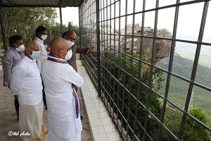 EO TTD INSPECTION OF VIEW POINT IN TIRUMALA