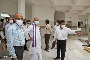 EO TTD Inspection of Paediatric Hospital