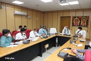 Eo Ttd Review Meeting on SV Goshala 2