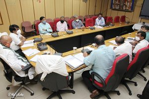 Eo Ttd Review Meeting on SV Goshala 3