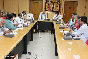 Eo Ttd Review Meeting on SV Goshala 4