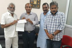 DONATION OF RS 10 LAKHS