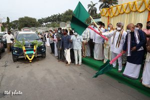 INAUGURATION OF ELECTRIC CARS2