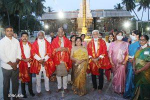 Lok Sabha Speaker Om Birla vsit to SKVST 2