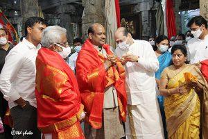 Lok Sabha Speaker Om Birla vsit to SKVST6