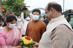 Lok Sabha Speaker Om Birla vsit to SKVST9
