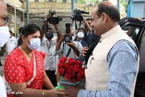 Lok Sabha Speaker Om Birla vsit to SRI KT