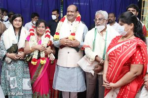 Lok Sabha Speaker Om Birla vsit to SRI KT10