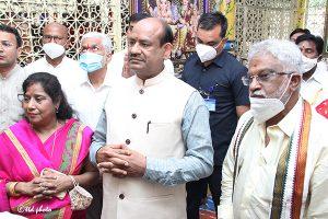 Lok Sabha Speaker Om Birla vsit to SRI KT3