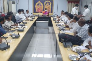 JEO REVIEW WITH ENDOWMENTS OFFICIALS OF AP