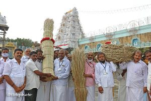 SACRED DARBHA MAT AND ROPE PROCESSION HELD1co